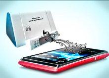 Vezeték nélküli indukciós hangszóró, rádióval és mp3 lejátszóval, SD kártya bemenettel