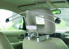 Vállfa autóba univerzális rögzítőkkel