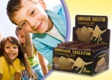 Dinoszaurusz feltáró készlet, mely tökéletes ajándék 8 évnél idősebb kisfiúk számára