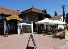 A'la carte falatozás 2 főnek 3.000 Ft értékben a szentendrei Castrum Cafe & Restaurantban