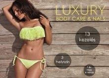 Formáld alakod akár egy éven át változatos kezelésekkel a Luxury Body Care Szalon 3 stúdiójának egyikében!