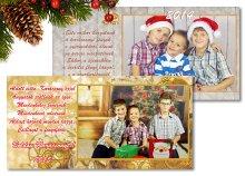 10 db egyedi fotós karácsonyi üdvözlőlap