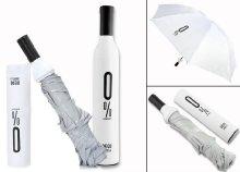 Dekoratív borosüveg esernyő