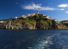 Tengerparti lazítás Krk-szigeten