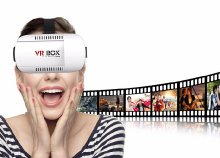 VR Box 3D virtuális valóság szemüveg