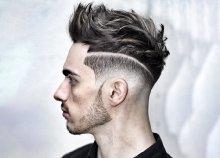 Férfi vagy fiú hajvágás, mosás, fejmasszázs