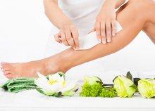 Teljes láb, bikinivonal és hónalj gyantázása