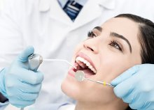 Ultrahangos fogkő-eltávolítás polírozással