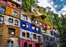 Advent Bécsben, séta Hundertwasser nyomában