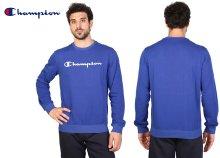 Champion környakú, férfi pulóver két divatos színben