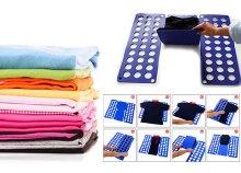 Praktikus ruha hajtogató sablon ingek és pólók hajtogatásához