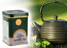 Dr. Chen eredeti kínai zöld tea jázminnal, fém dobozban