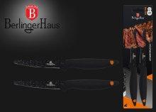 Berlinger Haus 2 részes steak késkészlet rozsdamentes acélból, márvány bevonattal
