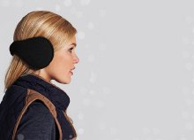 Tartsd melegen a füleidet! Divatos, polár anyagból készült fülvédők, 4 választható színben