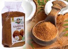 500 gramm BiOrganik kókuszvirágcukor teába, kávéba, sütéshez, főzéshez