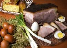 Húsvéti parasztsonkás tál 2 főnek Szentendrén