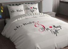 Mr Right és Mrs Always Right ágyneműhuzat garnitúra