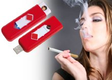 Cigaretta gyújtó kitolható fűtőszállal és USB csatlakozóval