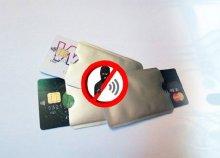 Leolvasást védő tok érintős bankkártyákhoz