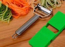 Slide & Slice zöldségszeletelő-hámozó egyben