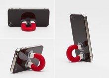 Többfunkciós mágnes formájú telefontartó