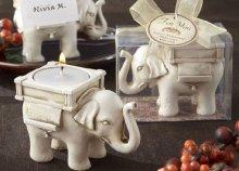 Elefántos gyertyatartó