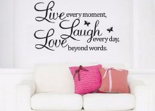 Live, laugh, love falmatrica