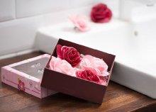 Rózsás fürdő ajándék szett