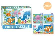 Baby puzzle többféle mintával