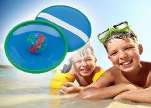 Tapadókorongos strandjáték kicsiknek és nagyoknak egyaránt