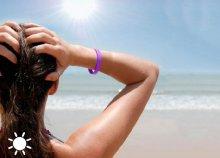 Band UV, UVA sugárzás érzékelő karkötő