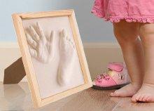 Gipszformázó készlet babáknak kerettel