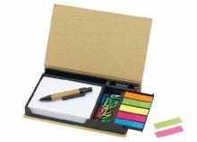 Memó jegyzet készlet praktikus dobozban