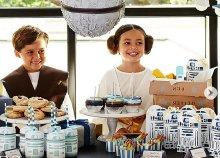 4 részes Star Wars party szett