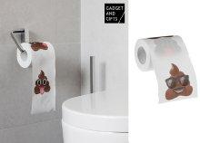 Poo hangulatjellel díszített toalett papír