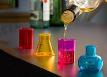 Chemistry feles poharak (4 darab)