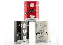 Vintage Coffee Machine fémdoboz