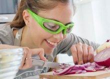 Onion Proof Shield védőszemüveg hagymavágáshoz