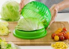 Quick Salad Maker gyors saláta mosó, szárító és aprító forma
