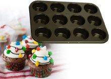 12 darabos teflon bevonatos muffin sütőforma