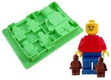 Szilikon, LEGO ember formájú sütőforma