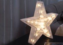 20 LED-es karácsonyi csillag