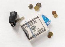 Dollár pénztárca
