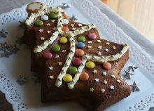 Karácsonyfa alakú szilikon sütőforma