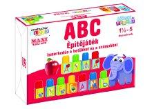 ABC betűk és számok fejlesztő építőjáték