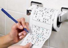 Sudoku mintás WC papír