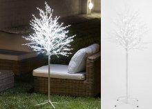120 Ledes dekoratív hófödte fa