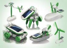 6 az 1-ben napelemes solar robot