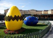 Húsvéti vásár a Schönbrunni kastélynál
