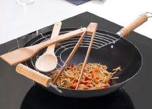 6 részes wok serpenyő készlet kiegészítőkkel